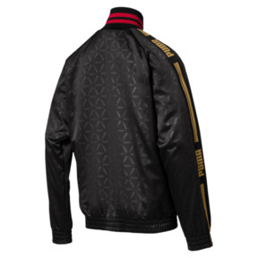 Thumbnail 4 of LUXE PACK Track Jacket, Puma Black-AOP, medium