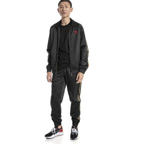 Thumbnail 5 of LUXE PACK Track Jacket, Puma Black-AOP, medium
