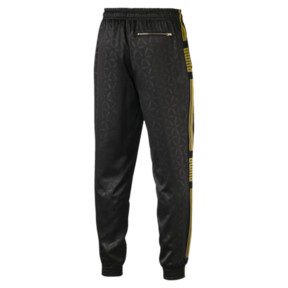 Thumbnail 4 of LUXE PACK Track Pants, Puma Black--AOP, medium