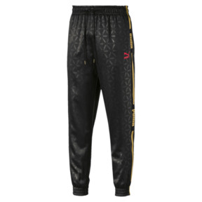Thumbnail 1 of LUXE PACK Track Pants, Puma Black--AOP, medium