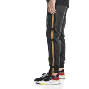 Thumbnail 3 of LUXE PACK Track Pants, Puma Black--AOP, medium