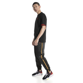 Thumbnail 5 of LUXE PACK Track Pants, Puma Black--AOP, medium