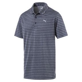 Miniatura 1 de Camiseta tipo polo a rayas Rotation para hombre, Peacoat, mediano