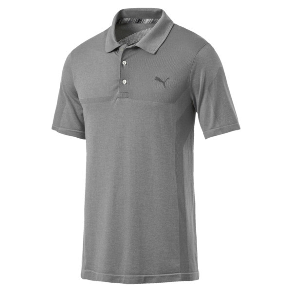 Polo de golf evoKNIT Breakers pour homme, Quarry Heather, large