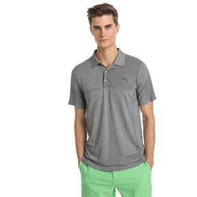 Thumbnail 1 of Polo de golf evoKNIT Breakers pour homme, Quarry Heather, medium