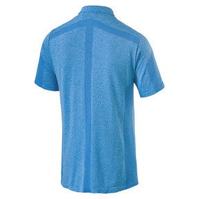 Thumbnail 5 of Polo de golf evoKNIT Breakers pour homme, Bleu Azur Heather, medium