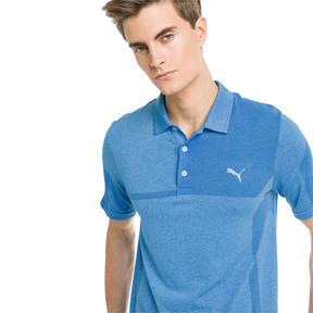 Thumbnail 1 of Polo de golf evoKNIT Breakers pour homme, Bleu Azur Heather, medium
