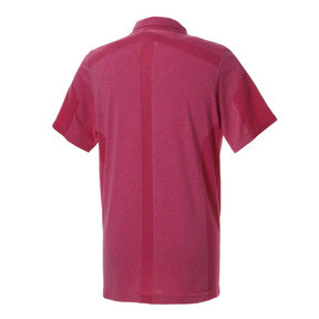 Thumbnail 2 of ゴルフ evoKNIT ブレイカーズ ポロシャツ (半袖), Fuchsia Purple Heather, medium-JPN