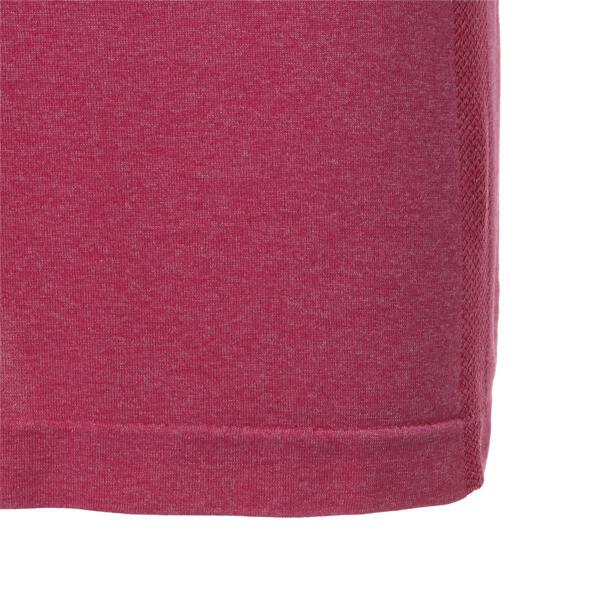 ゴルフ evoKNIT ブレイカーズ ポロシャツ (半袖), Fuchsia Purple Heather, large-JPN