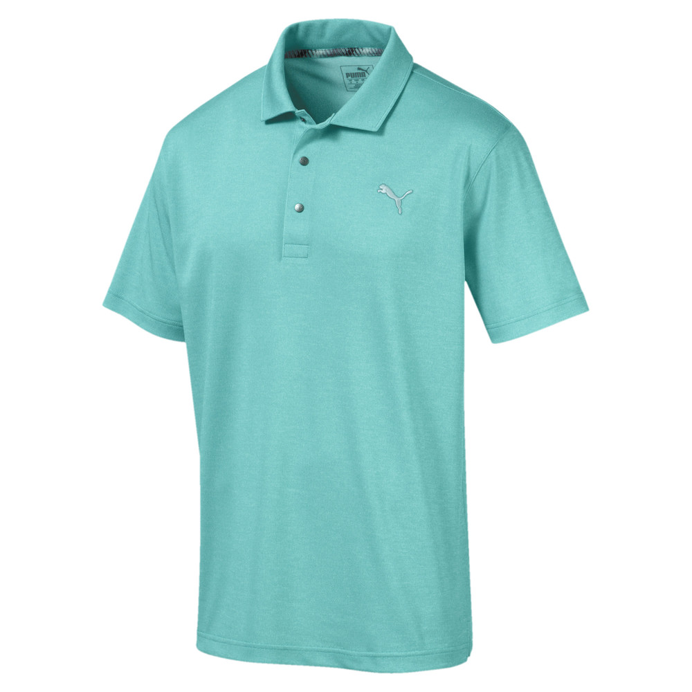 Image Puma Grill to Green Men's Golf Polo #1