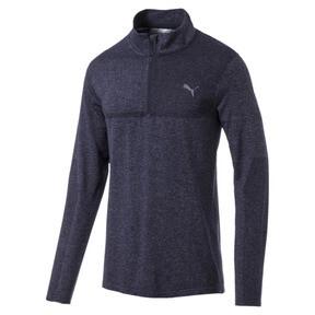 evoKNIT 1/4 Zip Men's Long Sleeve Golf Shirt
