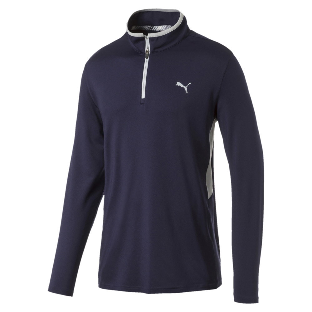 Image Puma Rotation Quarter Zip Men's Golf Pullover #1