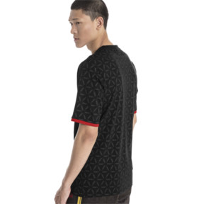 Thumbnail 3 of LUXE PACK Tape T-Shirt, Puma Black-AOP, medium