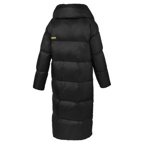 Thumbnail 4 of Longline Women's Down Coat, Puma Black, medium
