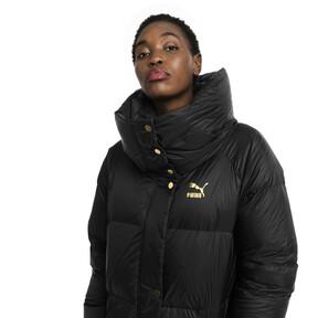 Thumbnail 2 of Longline Women's Down Coat, Puma Black, medium