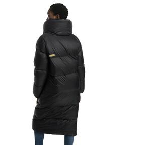 Thumbnail 3 of Longline Women's Down Coat, Puma Black, medium