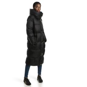 Thumbnail 5 of Longline Women's Down Coat, Puma Black, medium