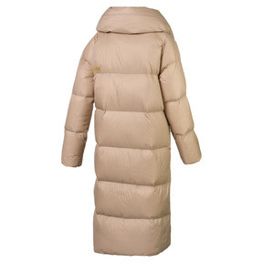 Thumbnail 4 of Longline Women's Down Coat, Brush, medium