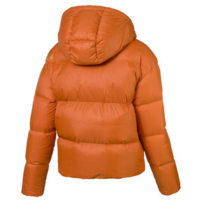 Thumbnail 4 of Women's' Down Jacket, Burnt Orange, medium