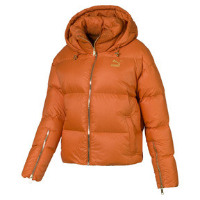 Thumbnail 1 of Women's' Down Jacket, Burnt Orange, medium