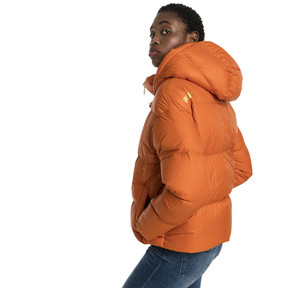 Thumbnail 3 of Women's' Down Jacket, Burnt Orange, medium