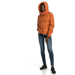 Thumbnail 5 of Women's' Down Jacket, Burnt Orange, medium