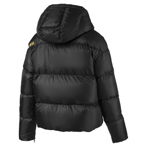Thumbnail 2 of Women's' Down Jacket, Puma Black, medium