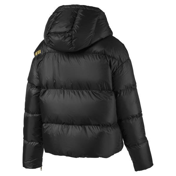 Women's' Down Jacket, Puma Black, large