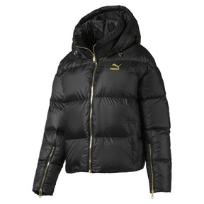 Thumbnail 1 of Women's' Down Jacket, Puma Black, medium