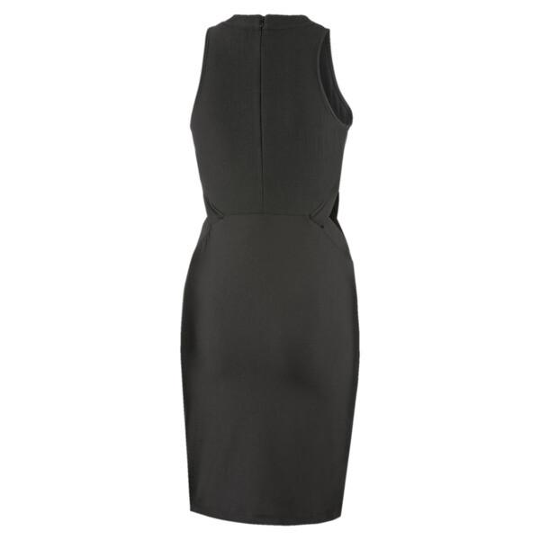 Classics jurk met uitsnijding voor vrouwen, Puma Black, large