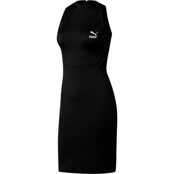 Classics Women's Cut Out Dress, Puma Black, large