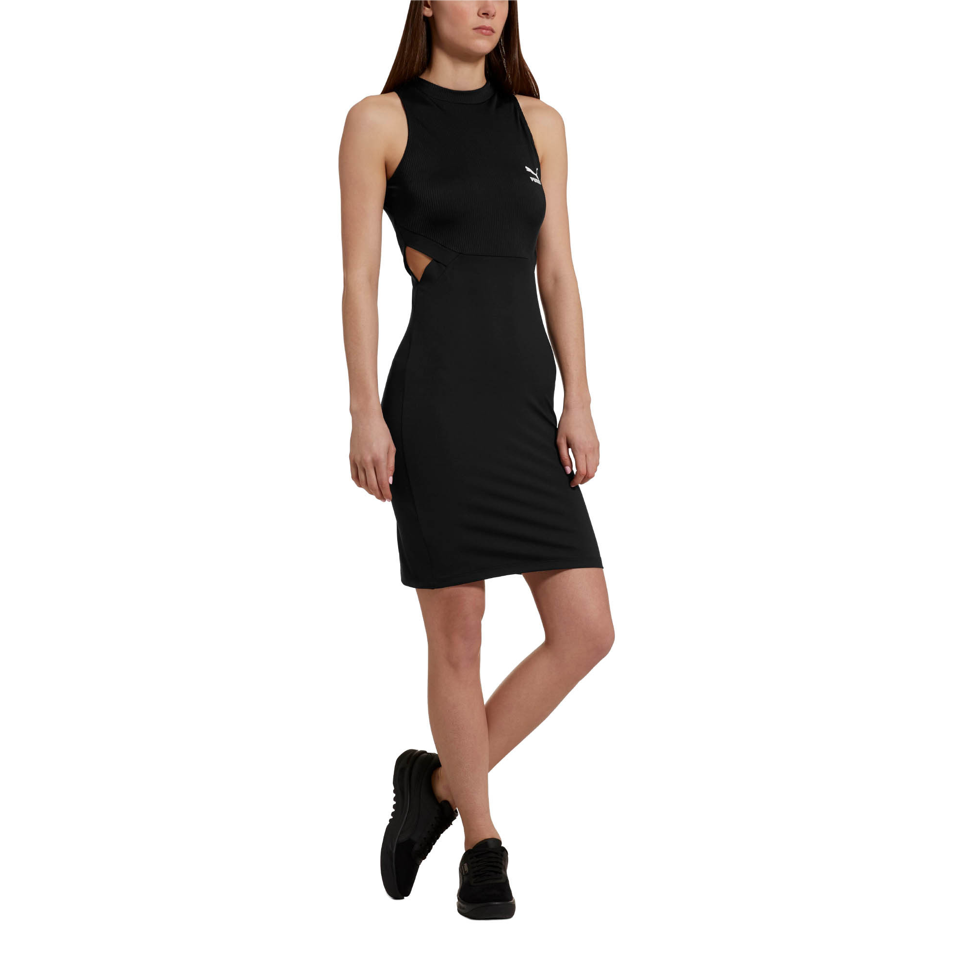 Image Puma Classics Cut-Out Women's Dress #1