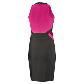 Thumbnail 2 of Classics Cut-Out Women's Dress, Fuchsia Purple, medium