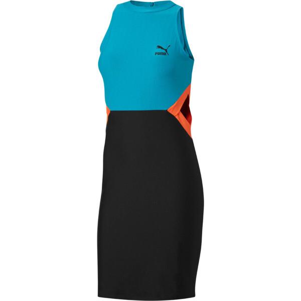 Classics Women's Cut Out Dress, Caribbean Sea, large