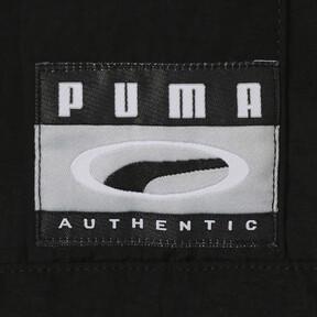 Thumbnail 6 of 90S RETRO ウーブン ヘッドスルー ジャケット, Puma Black, medium-JPN