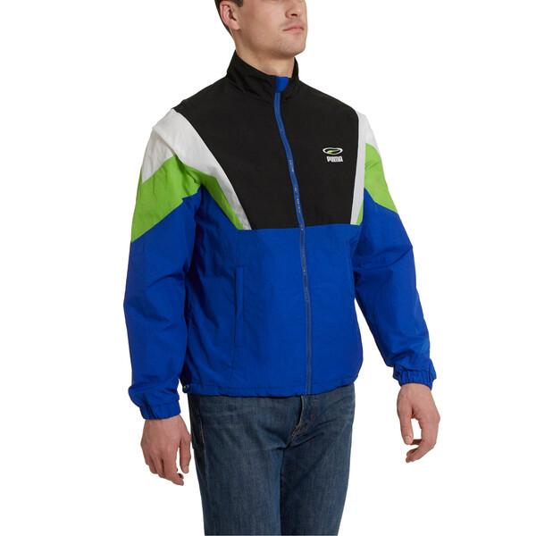'90s Retro Men's Woven Jacket, Surf The Web, large