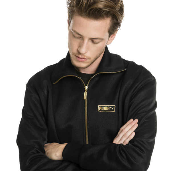 T7 Spezial Trophy Men's Track Jacket, Puma Black, large