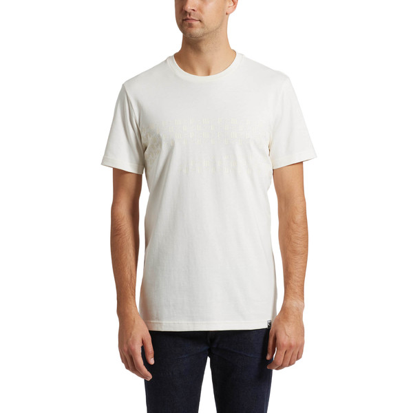 Lux Graphic T7 Tee, Whisper White, large