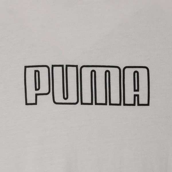 CHECK LOGO TEE, Puma White, large-JPN