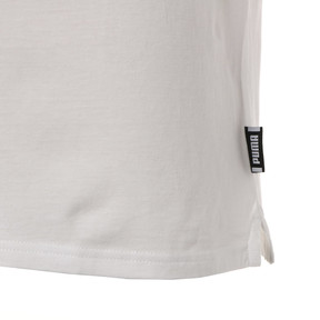Thumbnail 5 of CHECK LOGO TEE, Puma White, medium-JPN