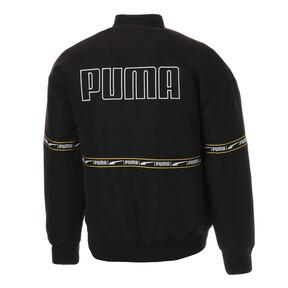 Thumbnail 2 of CHECK HEAVY BOMBER, Puma Black, medium-JPN