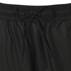 Thumbnail 6 of CHECK WOVEN PANTS, Puma Black-Check, medium-JPN