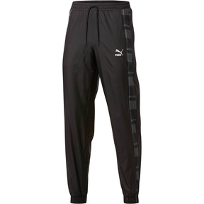 Thumbnail 1 of Check Woven Pants, Puma Black-Check, medium
