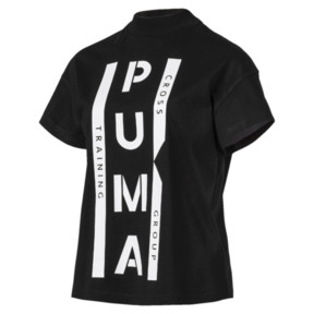 Thumbnail 1 of PUMA XTG グラフィック ウィメンズ SS Tシャツ (半袖), Cotton Black, medium-JPN