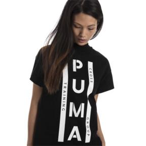 Thumbnail 2 of PUMA XTG グラフィック ウィメンズ SS Tシャツ (半袖), Cotton Black, medium-JPN