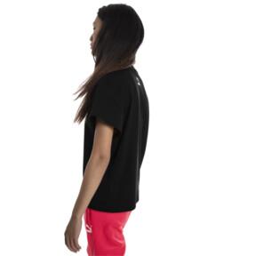 Thumbnail 3 of PUMA XTG グラフィック ウィメンズ SS Tシャツ (半袖), Cotton Black, medium-JPN
