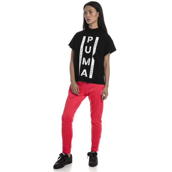 PUMA XTG グラフィック ウィメンズ SS Tシャツ (半袖), Cotton Black, large-JPN