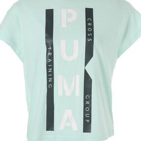 Thumbnail 9 of PUMA XTG グラフィック ウィメンズ SS Tシャツ (半袖), Fair Aqua, medium-JPN