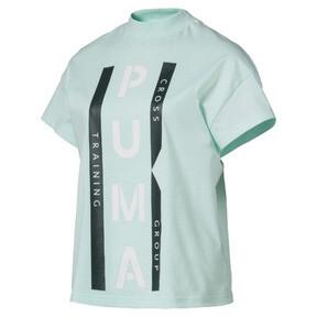 Thumbnail 1 of PUMA XTG グラフィック ウィメンズ SS Tシャツ (半袖), Fair Aqua, medium-JPN