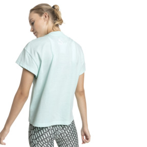 Thumbnail 3 of PUMA XTG グラフィック ウィメンズ SS Tシャツ (半袖), Fair Aqua, medium-JPN